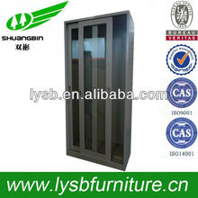 Office steel durable tall storage cabinet 1800(H) 850(W) x90(D)mm