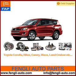 Toyota parts for Corolla, Camry, Hilux, Hiace, Land Cruiser etc car parts