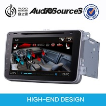 AUDIOSOURCES: Seat leon car dvd player gps with canbus function +bluetooth display
