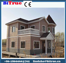 Economy fast assembling prefabricated houses in thailand