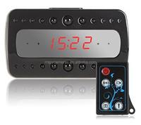 V26 Multi-function Ir HD 1080P Mini Clock Hidden Nanny Camera,Hidden Clock Camera DVR Recorder,hidden camera IR Clock Radio Cam