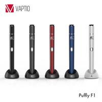 Custom vaporizer pen tanks Puffly F1 electronic cigarette dry herb vaporizer