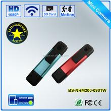 Night Vision Wifi 1080P Full HD Mini Spy Pen CCTV Camera With Remote