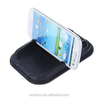 Silicone Gel pad stand holder mobile phone/GPS dashboard sticky mat for Moto G for HTC One m7 M8