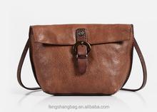 Single shoulder bag leisure female leather bag retro small Korean small bag