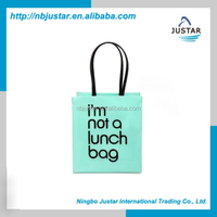 Factory Wholesale Personalized Colorful Matte Glossy Eco Laminated Customized Handled Shiny PVC Shopping Bag