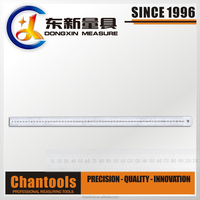 [CHANT] Various Size for Steel Metal Ruler with Etching Scale QDX01
