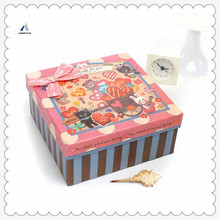 Mountain Beauty Small Paper Pink Box Fancy Cute Paper Gift Boxes