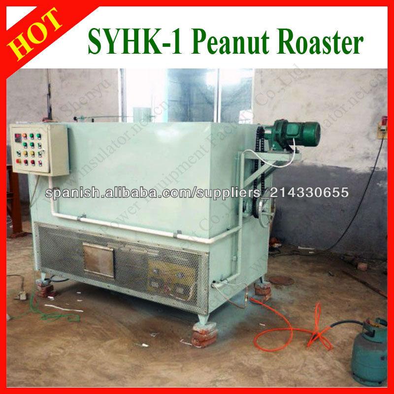 SYHK-1 pequeño modelo competitivo tostador de maní eléctrica