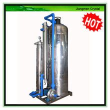 2000L/H activated carbon uv led water treatment