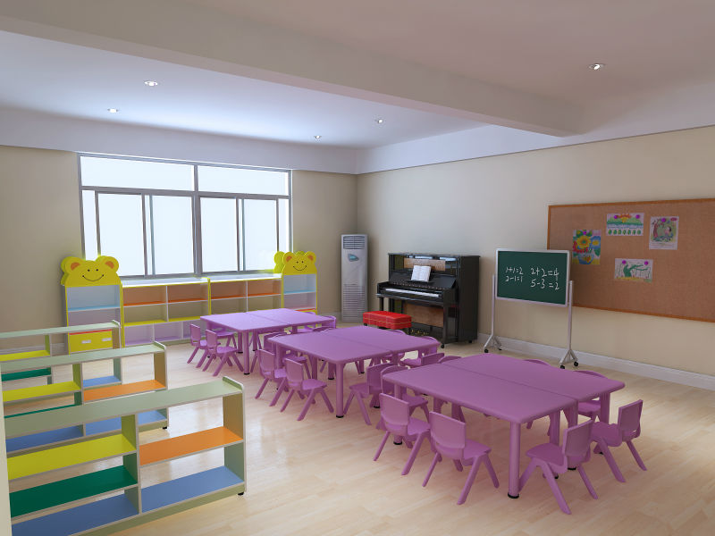hey there nursery kids table with movable school furniture buy
