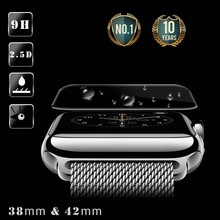 Phone accessories!!0.2mm 2.5d 9H screen protector for smartwatch tempered glass screen protector for apple watch