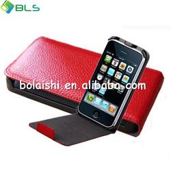 Hot sale ultral slim leather for blackberry bold 9700 cases