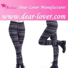 Wholesale Snowflake Thick Christmas Women Printed Leggings