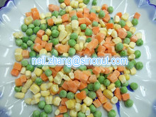 500g packing Colour printing bag Good Quality Frozen Mixed Vegetables