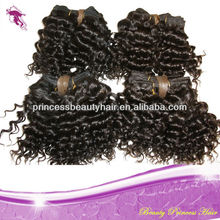 Cheap Tight Curls Temple Hair,Full Cuticle,5A Raw Virgin Mongolian Deep Curly Wavy Natural Color