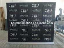 la publicidad de gran tamaño de base ancha retráctil banner cartel de pie