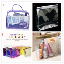 OEM/ODM china supplier manufacture promotion gift waterproof Wash clear pvc cosmetic bag
