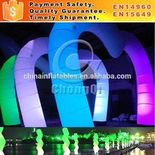 Portable inflatable arch with led,wedding arch,cheap inflatable arch for sale