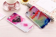 NEW Arrival 0.3MM Colorful Cute TPU Case For iPhone 6 / 6 Plus