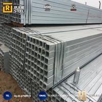 Astm A53 Furniture Galvanized Square Steel Pipe Price
