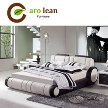 C368 hot sale modern leather bed designs