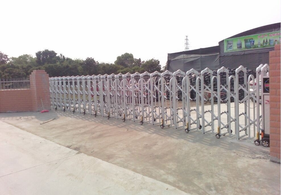 New design electric automatic sliding gate with remote control -J1325