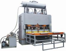 mdf laminating hot press machine