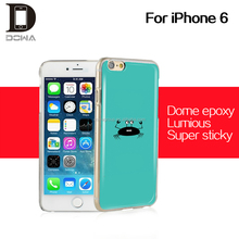 individualize epoxy case epoxy resin plastic phone cover for iphone 6s