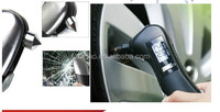 DIHAO Multifunctional Digital Auto pressure tire gauge with LED light safety hammer swiss knife