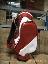 Latest Men's Light Golf Cart Bag with Leather