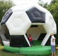 bouncy castle football/ inflatable football bouncer