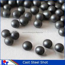 steel shot and grits_sand peening shot: cast steel shot S550