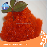 frozen tobiko,flying fish roe tobiko,seasoned fish roe tobiko