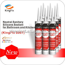 High modulus sanitary silicone sealant for Air conditioning