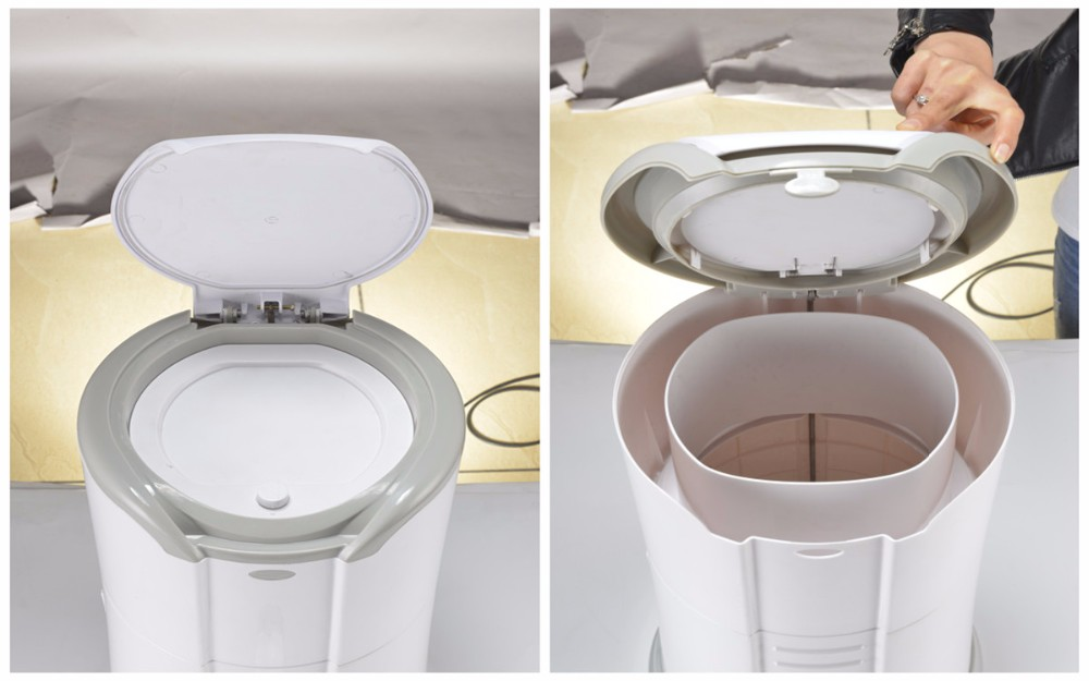 Eco trash compactor voor thuis schoon gemaakt recycling hopper bakken plastic container - Thuis container verkoop ...