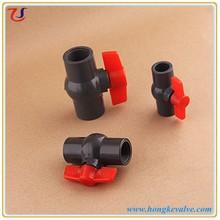 YiWu pvc ball valve supplier zhejiang valve