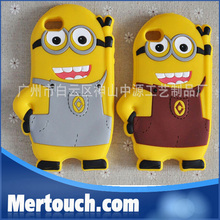phone accessories 3D silicone despicable me case for Huawei Ascend P6 , for Huawei Ascend P6 3d silicone case