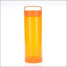 2015 new products Gifts herbalife Glass water bottles mug with foldable lid Glass Bottle Wholesale