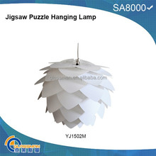 YJ1502M,Hot new design plastic lamp trendy indian hanging lamps