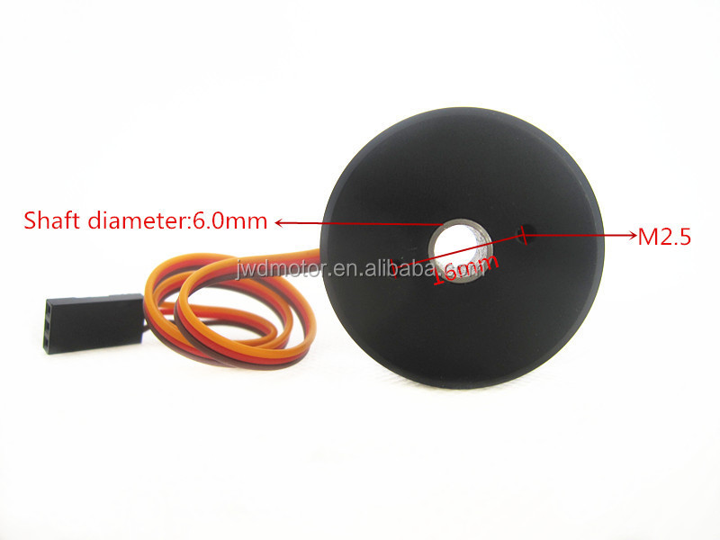 Wholesale rc BR2804 100t 135T brushless gimbal motor hollow shaft ...