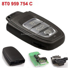 315Mhz Automobile Remote For Audi 8T0 959 754 C Remote key 3 Button Smart Card