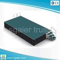 High quality heavy loading capacity concert stage/performance stage/wedding stage