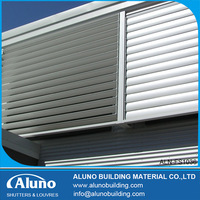Electric Control Aluminum Louvered Windows
