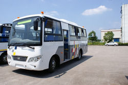 Anyuan PK6660HD3G 4x2 School bus with 18 seats LW