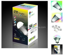 Touch Screen Remote Control Color Changing Wifi LED Light RGBW Bulb