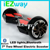 2015 iEZway alibaba express China factory popular drift style electric bluetooth speaker two wheels self balancing scooter
