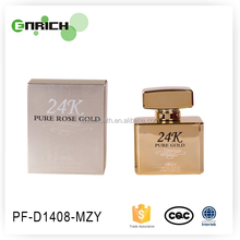 24k pure gold luxury perfume lady perfume