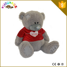 OEM/ODM bear toys soft plush teddy toys gaint brown curly teddy bear factory