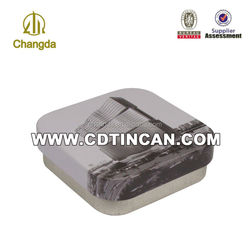 cartoon card packing tin box CD-255